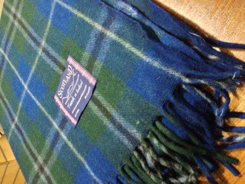 Scottish Tartan coperte, coperte, coperte, colore: douglas