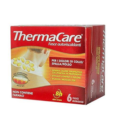 ThermaCare Ansatz-Schulter-Handgelenk-Band-6 Selbsterhitzung (Kleidung Eisen Kohle)
