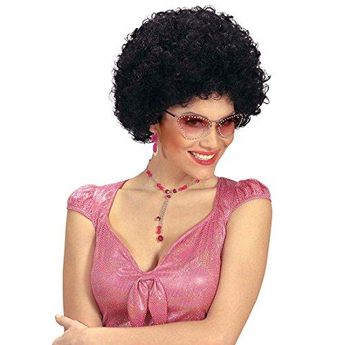 cke Afro Perücke Afroperücke Disco Unisex Faschingsperücke Locken Karnevalsperücke Afrikaner Mottoparty Haare 70er Jahre (Schwarz Unisex Hippie Perücke Für Erwachsene)