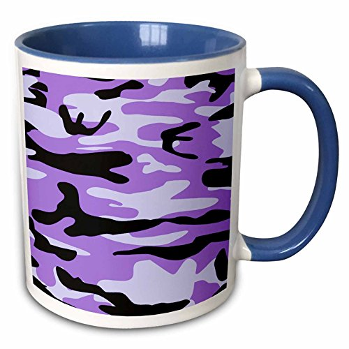 Mensuk Purple camo print - girly army uniform camouflage pattern - girls military soldier blend (Army Camouflage Pattern)