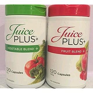 Juice Plus Premium Capsule 120 Fruit Blend 120 Vegetable Blend by ANS