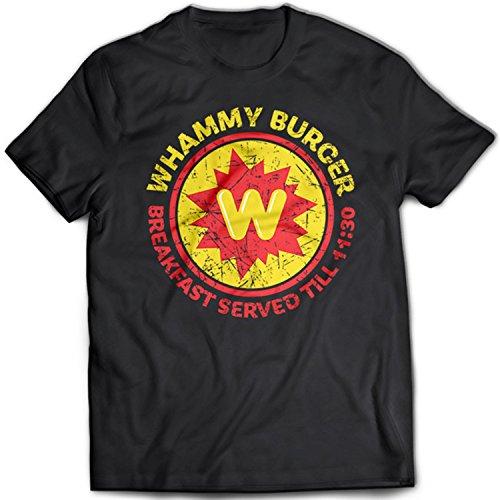 9313 Whammy Burger Herren T-Shirt Falling Down Michael Douglas Prendergast Crime Drama Schwarz
