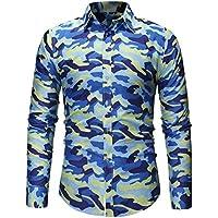 Geili Hemd Herren Camouflage Langarmshirt Slim Fit Freizeithemden Bügelfrei Langarmhemd Herrenhemden Freizeit... preisvergleich bei billige-tabletten.eu