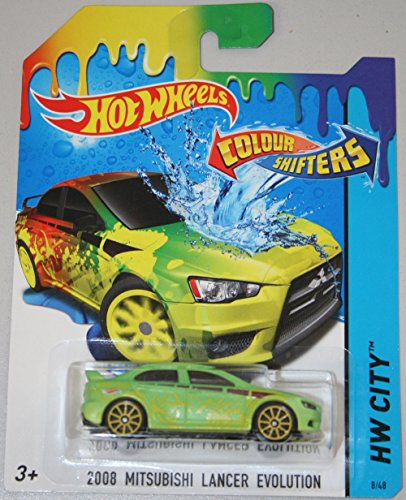 hot-wheels-colour-shifters-2008-mitsubishi-lancer-evolution-hw-city-2015-cfm40-8-48-by-hot-wheels