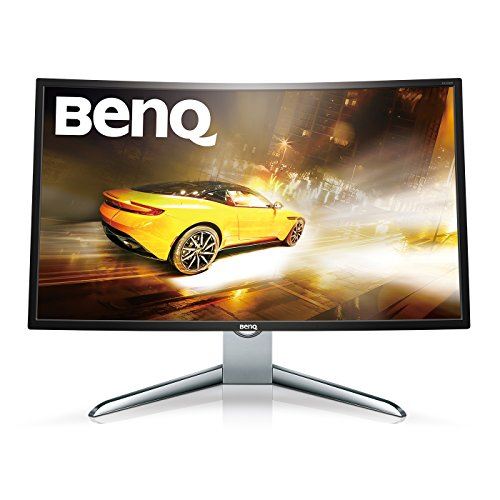 BenQ EX3200R 31.5 inch Curved Monitor (1080p, 1800R Curvature, 144Hz, Cinema Mode, HDMI, Low Blue Light, Flicker-free) Ultrawide Premium Multi-Media, Video Enjoyment