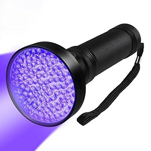 Zmsdt UV-Taschenlampe LED Blacklight - Schwarzlicht für Urin-Erkennung Hund & Katze-Haustier Fleck Urin Detektor Licht mit UV-Marker Pen - Finden Sie Scorpions -