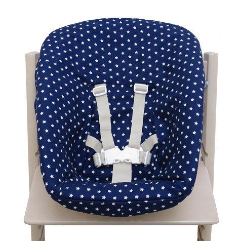 Blausberg Baby - Bezug für Stokke Newborn Set blau Sterne
