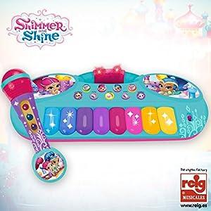 Shimmer & Shine- Set micrófono y órgano (Claudio Reig 3519)
