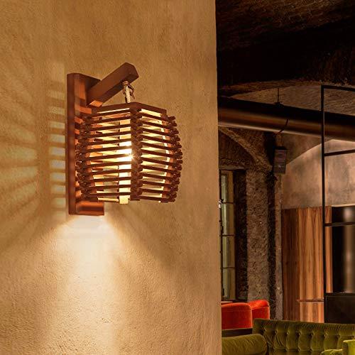 Kreative Vintage Bambus Wandleuchte E27 Wandleuchte Licht Gang Flur Hotel Ktichen Dingle Zimmer Restaurant Café Licht -