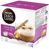 Nescafé Dolce Gusto - Chai Tea Latte - 3 Paquetes de 16 Cápsulas - Total: 48 Cápsulas