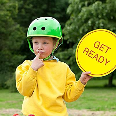 Micro Scooters Safety Helmet Glossy Green For Boys And Girls Cycling, Bike from Micro Scooters