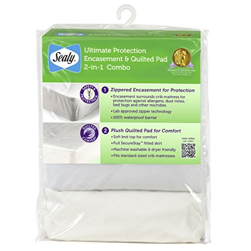 sealy-ultimate-protection-encasement-and-quilted-crib-mattress-pad-2-in-1-combo-pack-by-sealy