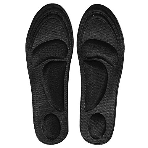 GTC Flat Feet Arch Heel Fore foot Support Orthopedic pain relief Shoe Insoles Memory Foam Inside Extra Cushion For Men And Women For Sports Jogging Regular Use Comfortable and Adjustable (1 Pair) ( 71