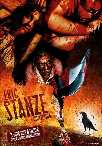 Preisvergleich Produktbild Eric Stanze Collection (6 Films on 3 DVDs): Savage Harvest (1994),  Ice From The Sun (1999),  Scrapbook (2000),  I Spit On Your Corpse,  I Piss On Your Grave (aka The Captives,  2001),  Savage Harvest 2: October Blood (2006) & Deadwood Park (2007) - Region 2 PAL with Bonus Material by Lisa Morrison