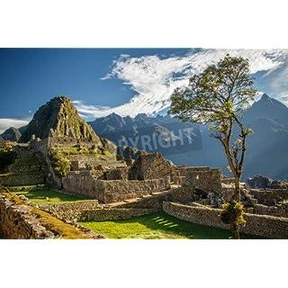 adrium The Most Famous Picture of Peru–Machu Picchu (81147102), Canvas, 50 x 30 cm