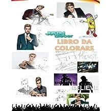 Justin Bieber Libro Da Colorare: per adulti e bambini - 30 disegni esclusivi a mano libera e Mandalas liriche: colore durante l'ascolto: Sorry, Love Yourself, What Do You Mean, Baby