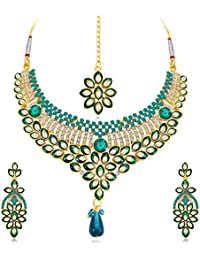Sukkhi Jewellery Sets for Women (Golden) (N71695ADAP600)