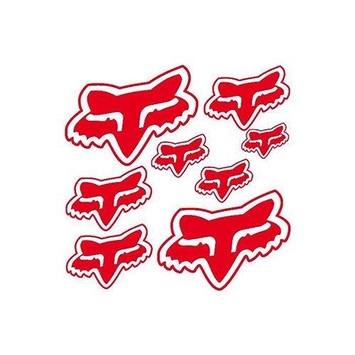 Offert 2 Stickers MXSPIRIT Autocollant Kit Deco Red Vintage pour Yamaha PW 50 PW50 Piwi Haute Resistance Qualit/é Premium