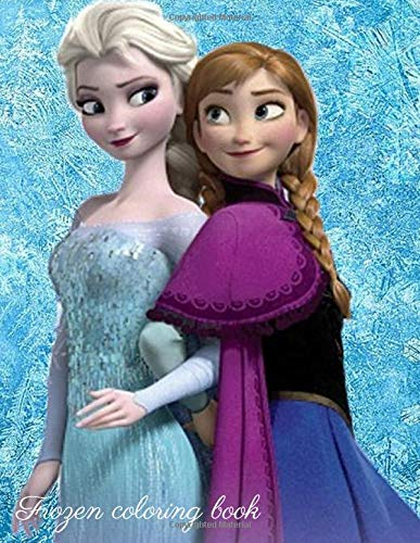 Frozen coloring book: Catoon character,Frozen coloring,kids activity 60 pages 8.5x11
