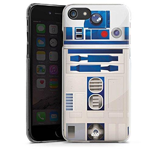 Apple iPhone 5s Hülle Case Handyhülle Star Wars Merchandise Fanartikel R2D2 Hard Case transparent