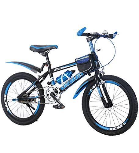 SXMXO Kinderfahrrad 18/20/22 Zoll Mountainbikes Jungen Mädchen ab 9 Jahre mit V-Brake und Rücktritt - 18/20/22 Zoll BMX Modell 2019,18inch
