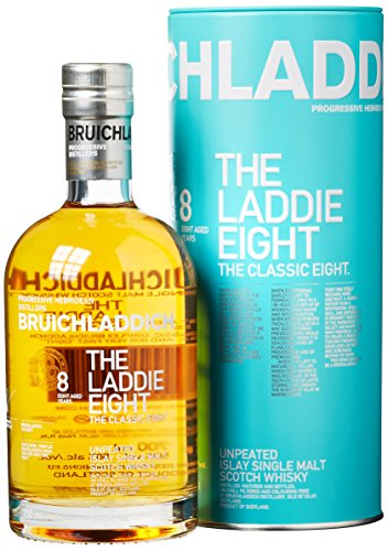 Bruichladdich The Laddie Eight 8 Years Old Whisky mit Geschenkverpackung (1 x 0.7 l)