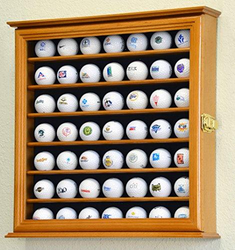 49Golf Ball Display Fall Schrank Wall Rack Halter w/98% UV-Schutz abschließbar