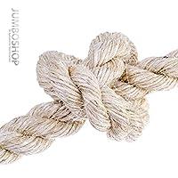 5m 20mm SISALSEIL Naturfasern gedreht Sisal Seil Naturseil Tauwerk Katzenbaum Leine Katzenkratzbaum