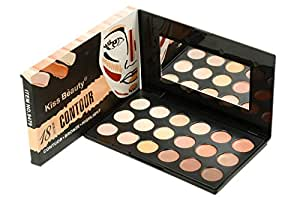 New Kiss Beauty Concealer Contour Highlighter Palette (18 Shades)