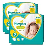 Couches Pampers - 48 Couches New Baby - Premium Protection Taille 0