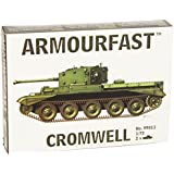 Armourfast 1/72 Cromwell Tank Model Kit - Contains 2 Tanks