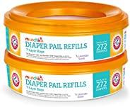 Munchkin Arm & Hammer Diaper Pail Refill Rings, 7 Layers Bag, Pack