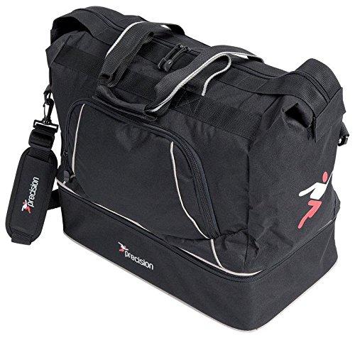 Precision Senior Players Bag Black/Silver