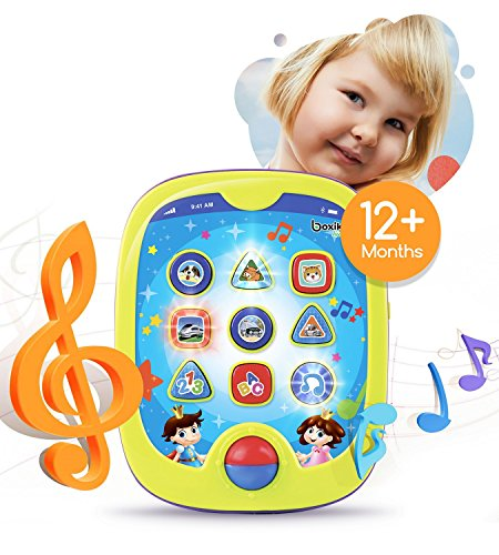 Smart Pad for Babies and Children Learning by Boxiki Kids. Educational Toy for Infants with Kids' Learning Games. Learn Numbers, ABC Learning,