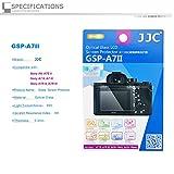 JJC Ultra-mince Optique LCD Protection d'écran en Verre pour Sony Alpha A9 (ILCE-9) A7II (ILCE-7M2) A7RII (ILCE-7RM2) A7RIII (ILCE-7RM3)