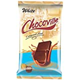 Chocoville Compound Chocolate slab, White - 500 gms
