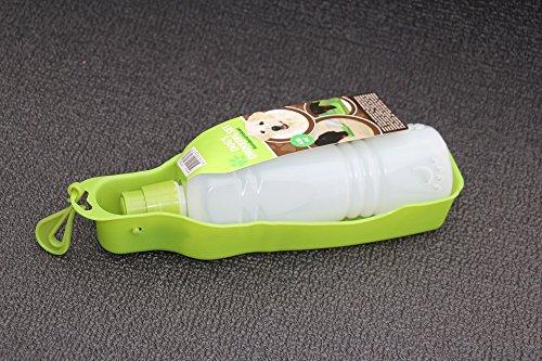 BKL1® Hundetrinkflasche Grün Trinkflasche Napf Für Hunde Wasserflasche
