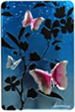 Churchill's Blue Tin with Pink Butterflies with Chocolate Chunk and Hazelnut Biscuits 300 g