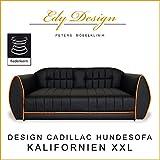 Hundesofa KALIFORNIEN XXL Couch Hundebett CADILLAC DESIGN mit FEDERKERN