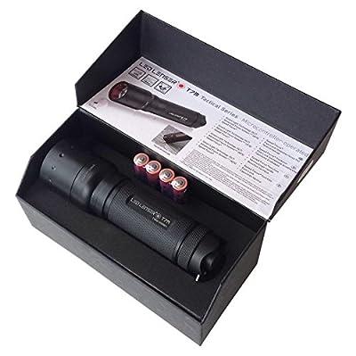 Ledlenser 9807M T7M Tactical LED Torch, Gift Box - Black