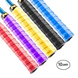 Windwalker M1 Overgrip Antiscivolo Nastro Multicolore per Racchette da badminton, Racchette da tennis, Racchette da squash, Manici per biciclette, Volante, Pipistrelli da baseball, Canne da pesca