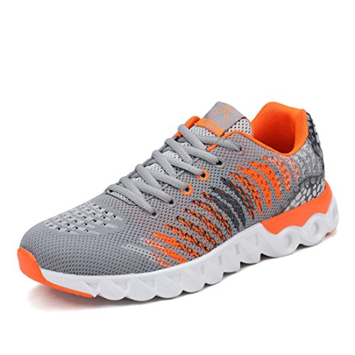 Men's Super Light Quality Training Shoes Orange