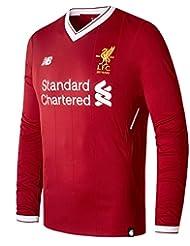 Liverpool FC 17/18 - Maillot de Foot Domicile ML - Rouge