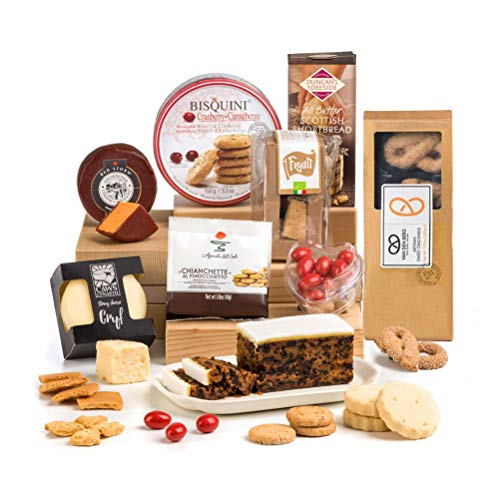 Hay Hampers Cheese and Biscuits (Sweet and Savoury) Hamper Box - Free UK Delivery
