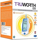 Truworth G-30 Glucometer Blue with 25 Strips (Multicolor)
