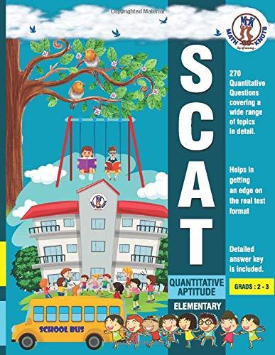 SCAT Quantitative Aptitude: SCAT- Elementary - Quantitative Aptitude