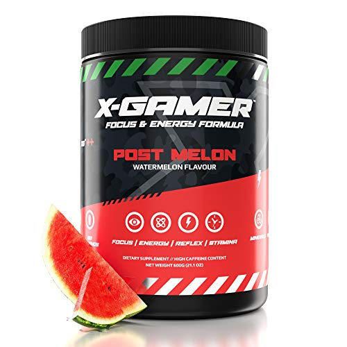 X-Gamer X-Tubz - Gaming Booster Pulver - Shake It Yourself - 600g ( 60 servings ) (PostMelon)