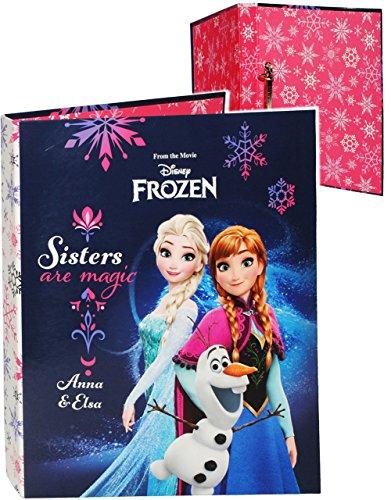 alles-meine.de GmbH Ordner / Ringbuch / Sammelordner -  Disney Frozen - die Eiskönigin  - A4 - Ringordner für Dokumente / 2 Ring - Mechanik - Aktenordner - Schulordner Büro - v..