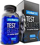 Testosterone Boosters For Men Test Bullets with Alpha Testarin Complex Ultra Strong 30 Day Supply
