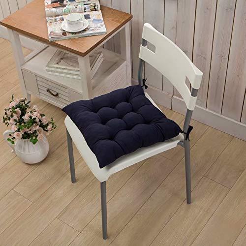 Cojín de silla acolchado de color liso cojín de silla Cojín de silla de oficina Cojín de estudiante...